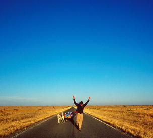 Aaron Huey's Walk Across America