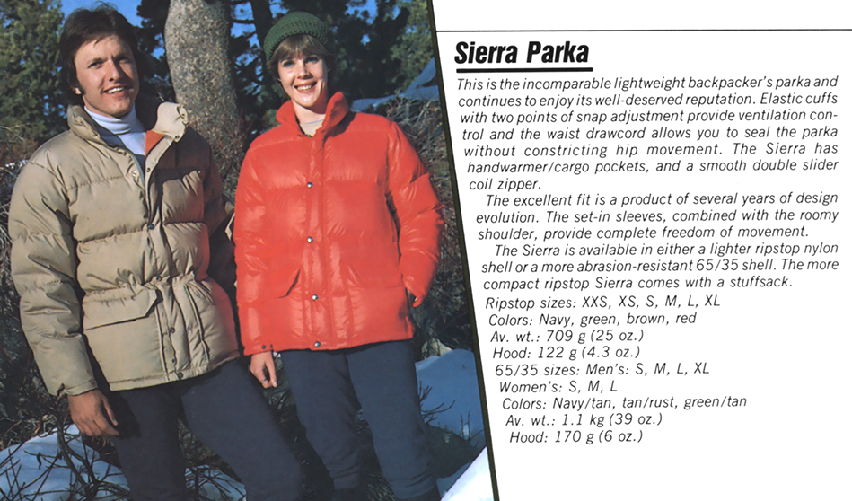 The North Face Sierra Parka - Then & Now