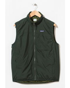 Patagonia Men's Reversible Crankset Vest Smoked Green 0