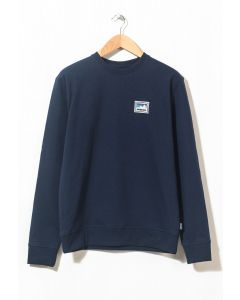 Patagonia Men's Shop Sticker Uprisal Crew Sweat Classic Navy 0