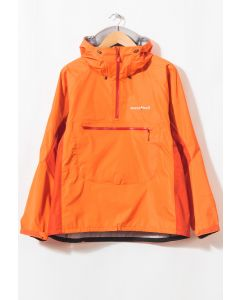 Montbell Men's Rain Worker Anorak Vermillion Orange 0