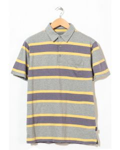 Patagonia Men's Squeaky Clean Polo Rugby Stripe/Smokey Violet 0
