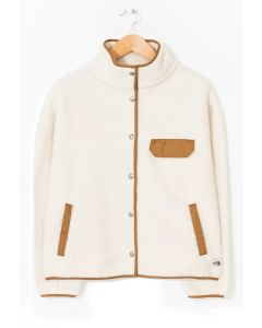 The North Face Women's Cragmont Fleece Jacket Vintage White 0