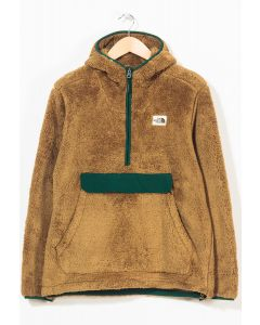 The North Face Men's Campshire Pullover Hoodie British Khaki 0