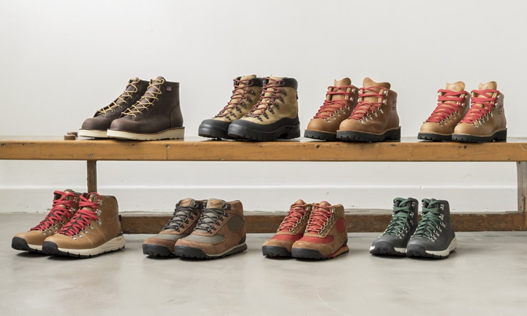 Danner boot selection