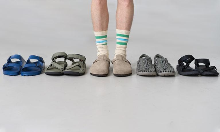 Outsiders Sandal Footwear Selection