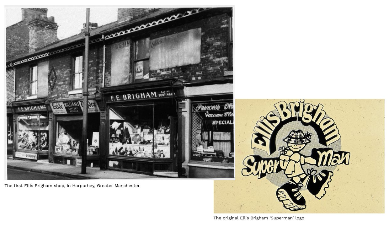 """The first Ellis Brigham shop, in Harpurhey, Greater Manchester"