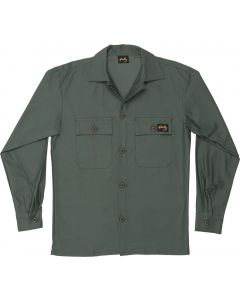 Stan Ray Men's Two Pocket Jacket Olive Sateen