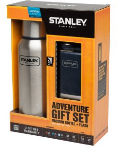 Stanley Adventure Gift Set Steel/Navy