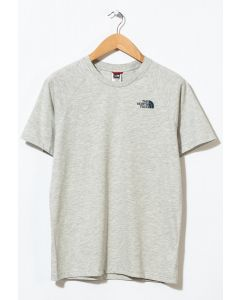 The North Face Men's S/S Raglan Simple Dome T-Shirt TNF Oatmeal Heather