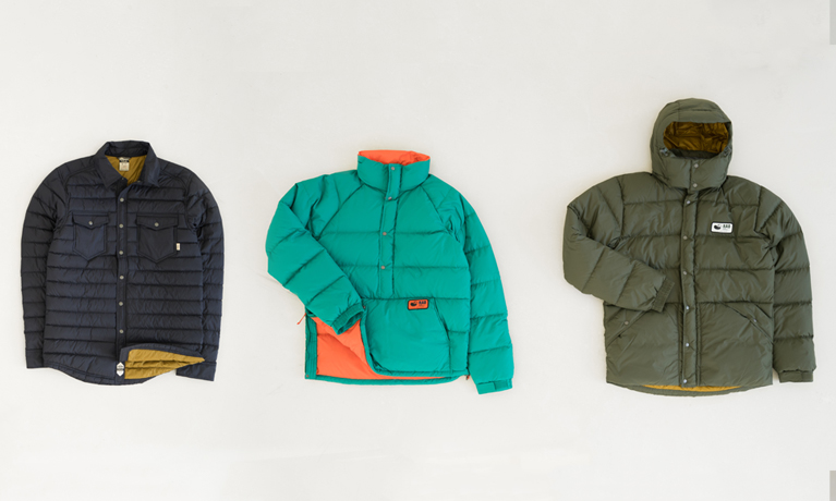 Rab Down Equipment clothing selection