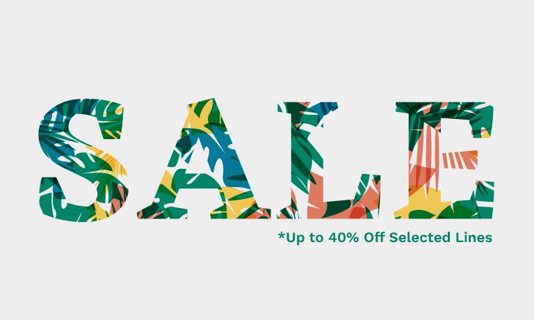Sale Tropical Letters
