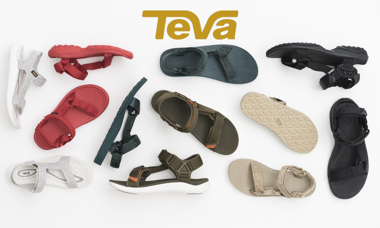 Teva footwear selection